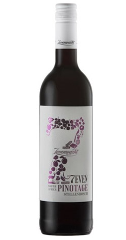 Zevenwacht - 7EVEN Pinotage, Stellenbosch - 2017 (750ml) :: South African Specialists MAIN