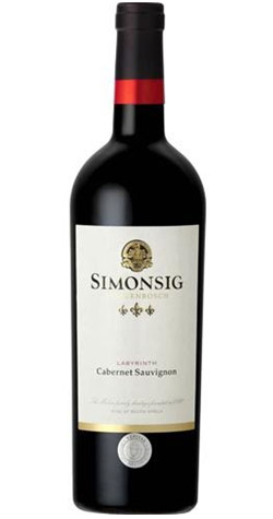 Simonsig - Labyrinth Cabernet Sauvignon 2016, Stellenbosch :: Cape Ardor - South African Wine Specialists MAIN
