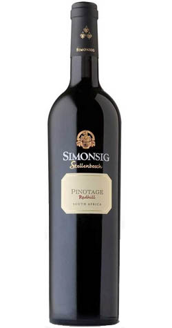 Simonsig - Redhill Pinotage 2014, Stellenbosch (750ml) :: Cape Ardor - South African Wine Specialists