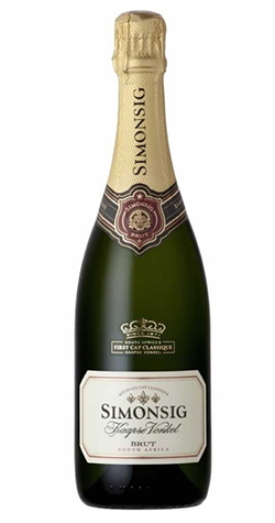 Simonsig - Kaapse Vonkel Brut, Stellenbosch - 2016 (750ml) :: Cape Ardor - South African & New Zealand Wine Specialists MAIN