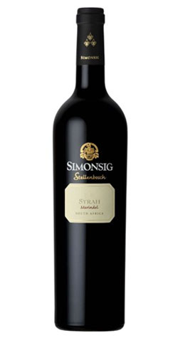 Simonsig - Merindol Syrah, Stellenbosch - 2012 (750ml) :: Cape Ardor - South African Wine Specialists MAIN