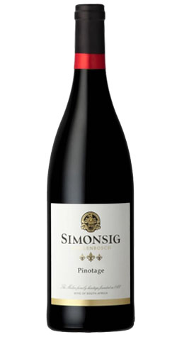 Simonsig - Pinotage, Stellenbosch - 2015 (750ml) :: Cape Ardor - South African Wine Specialists MAIN