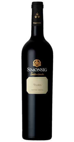 Simonsig - Tiara Red Blend, Stellenbosch - 2015 (750ml) :: Cape Ardor - South African Wine Specialists MAIN