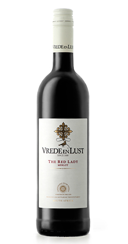 Vrede en Lust - Red Lady Merlot - 2018 (750ml) :: South African Wine Specialists MAIN