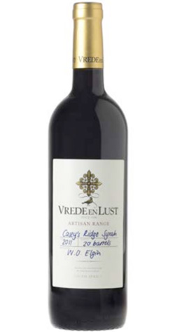 Vrede en Lust - 'Casey's Ridge' Syrah, Elgin - 2013 (750ml) :: South African Wine Specialists