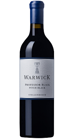 Warwick - Professor Black 'Pitch Black' Red Blend, Stellenbosch - 2017 | Cape Ardor LARGE