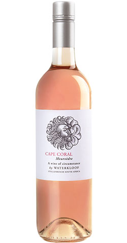 Waterkloof - 'Cape Coral' Mourvedre Rose, Stellenbosch - 2018 (750ml) :: South African Wine Specialists MAIN