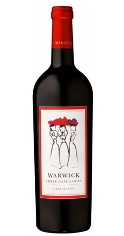 Warwick - Three Cape Ladies Blend, Simonsberg-Stellenbosch - 2012 :: Cape Ardor - South African Wine Specialists