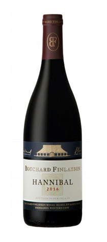 Bouchard Finlayson, Hannibal Red Blend, Walker Bay 2016, Sangiovese
