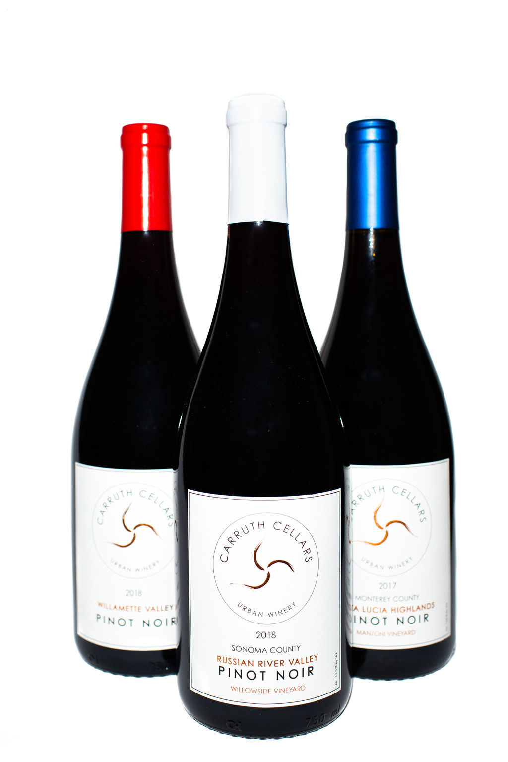 Red, White & Blue Pinot Noir Package LARGE