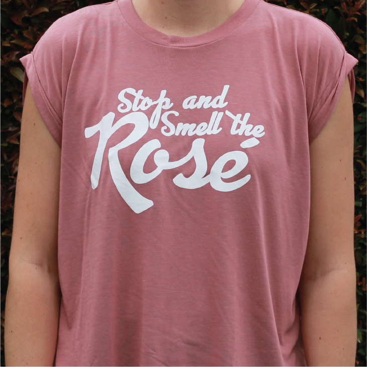 Smell the Rosé Tee THUMBNAIL