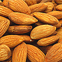 Shelled Raw Almonds THUMBNAIL