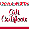 On Line Gift Certificate MAIN