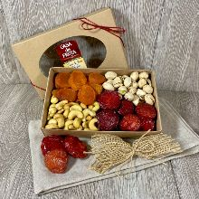 Fruit and Nuts Gift Box 12 oz THUMBNAIL