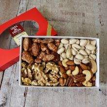 Gourmet Nuts Gift Box 12 oz THUMBNAIL
