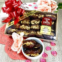 Medjool Dates Stuffed with Walnuts Crate 21 oz THUMBNAIL