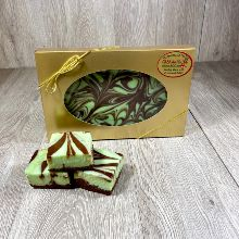 Mint Chocolate Swirl Fudge 16 oz LARGE