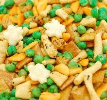 Bulk Rice Crackers  with Peas Mix THUMBNAIL