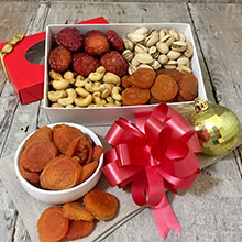 Fruit and Nuts Gift Box 12 oz LARGE