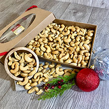 Jumbo Roasted & Salted Cashews 32 oz THUMBNAIL