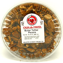Butter Toffee Pecans 31 oz Tub