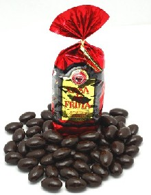 Dark Chocolate covered Almonds - Sugar Free 8 oz_MAIN