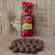 Cappuccino Chocolate Almonds Gift Bag 8 oz LARGE