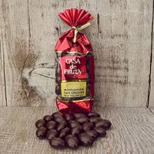 Dark Chocolate Almonds 8 oz LARGE