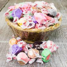 Salt Water Taffy Basket 16 oz