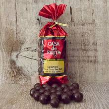 Caramel Dark Chocolate with Sea Salt Gift Bag 8 oz LARGE