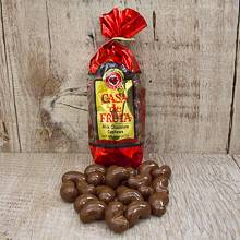 Milk Chocolate covered Cashews Gift Bag 8 oz THUMBNAIL