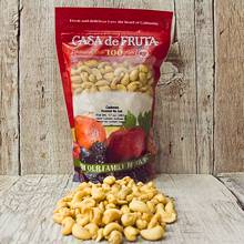 Roasted Cashews (320's) 17 oz