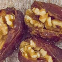 Medjool Dates Stuffed with Walnuts