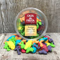 Gummi Rainforest Frogs Tub 10 oz_THUMBNAIL