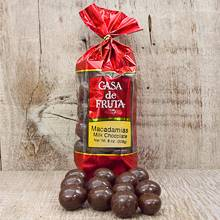 Milk Chocolate covered Macadamia Nuts Gift Bag 8 oz THUMBNAIL