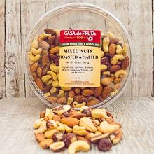 Roasted & Salted Mixed Nuts Tub 32 oz
