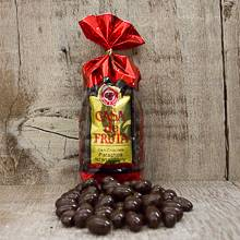 Dark Chocolate covered Pistachios 8 oz THUMBNAIL