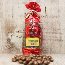 Milk Chocolate covered Raisins - No Sugar Added 8 oz LARGE