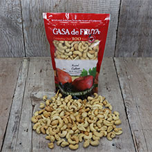 Roasted Cashews 18 oz LARGE