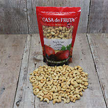 Roasted & Salted Cashews 18 oz LARGE