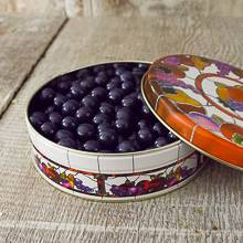 Pastel Milk Chocolate covered Blueberries Tin 16 oz