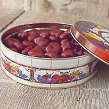 Pastel Chocolate Cherries Tin 20 oz MAIN