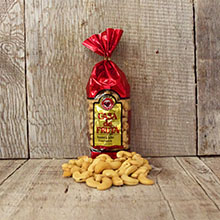 Roasted and Salted Jumbo Cashews Gift Bag 10 oz
