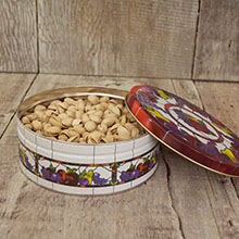 Pistachios Roasted & Salted Tin 23 oz