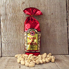 Pistachios Roasted & Salted Gift Bag 8 oz