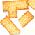Savory Cracker Thins SWATCH