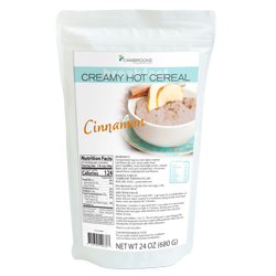 Creamy Hot Cereal - Cinnamon