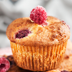 KetoVie Café Raspberry Muffins