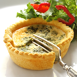 KetoVie Café Spinach & Feta Quiche MAIN