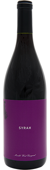 2015 Syrah — Mudd West Vineyard
